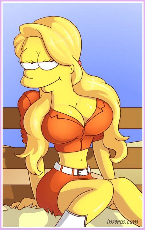 Рисованное порно симпсон