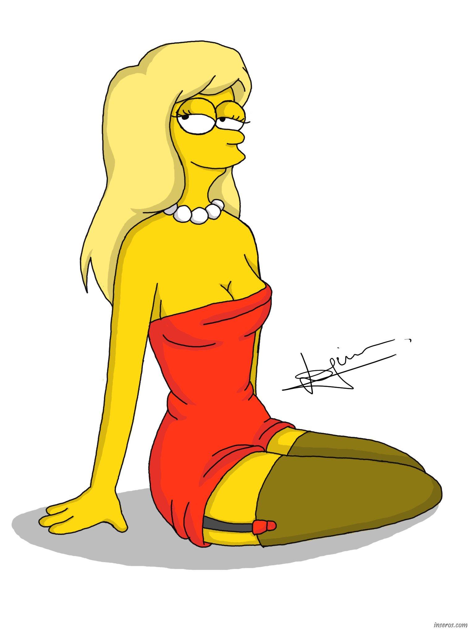 Эротические фото лизы симпсон