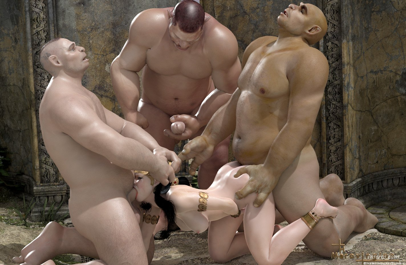 Gangbang by orcs sexy tube