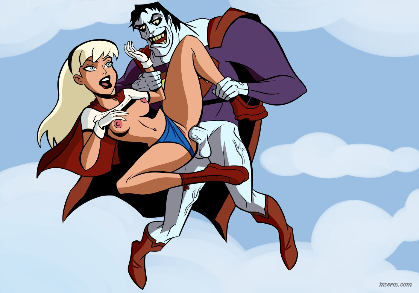 Супермен трахнул девушку 7 фотография