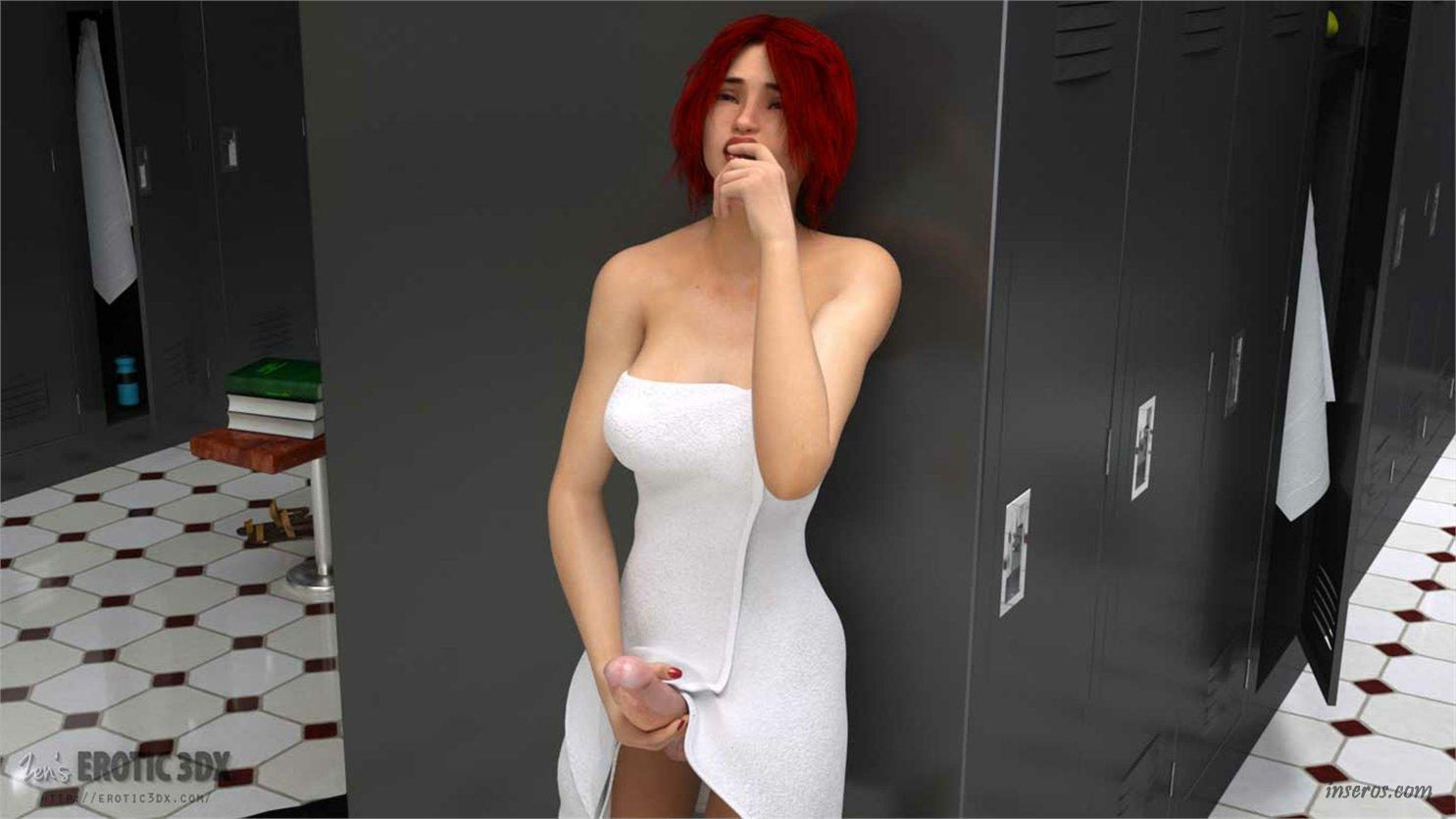 Секс в раздевалке после тренировки 27 фотография