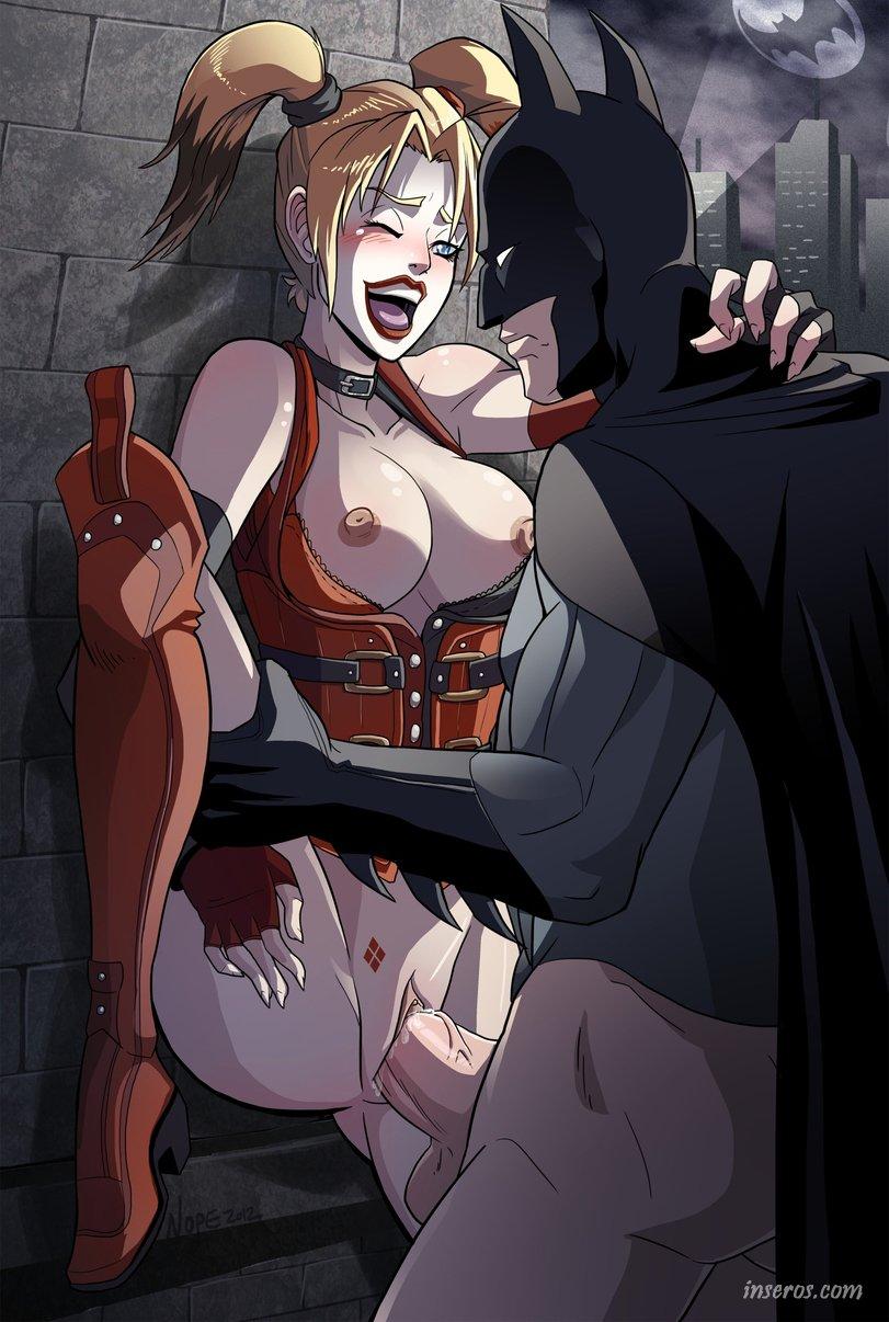 Порно бэтмен харли квинс