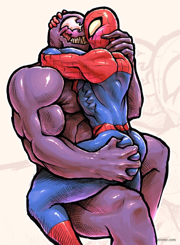Секс веном и человек паук 9 фотография